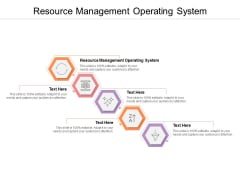 Resource Management Operating System Ppt PowerPoint Presentation Slides Objects Cpb
