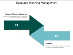 Resource Planning Management Ppt PowerPoint Presentation Inspiration Smartart Cpb