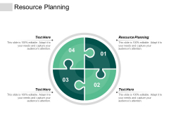 Resource Planning Ppt Powerpoint Presentation Summary Master Slide Cpb