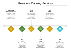 Resource Planning Services Ppt PowerPoint Presentation Model Guidelines Cpb