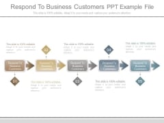 Respond To Business Customers Ppt Example File