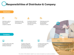 Responsibilities Of Distributor And Company Ppt PowerPoint Presentation Infographic Template Display
