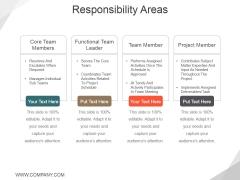 Responsibility Areas Ppt PowerPoint Presentation Ideas Design Inspiration