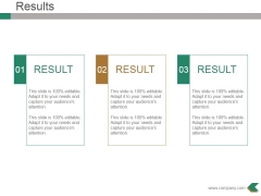 Results Ppt PowerPoint Presentation Model Graphics Design