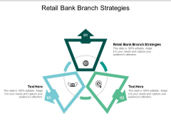 Retail Bank Branch Strategies Ppt PowerPoint Presentation Gallery Templates Cpb