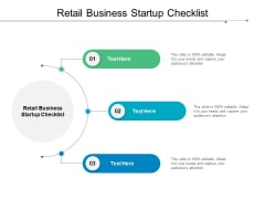 Retail Business Startup Checklist Ppt PowerPoint Presentation Rules Cpb
