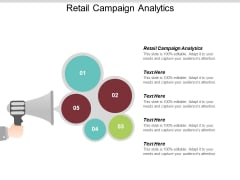Retail Campaign Analytics Ppt PowerPoint Presentation Infographic Template Inspiration Cpb