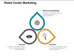 Retail Centre Marketing Ppt PowerPoint Presentation Professional Sample