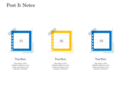 Retail Cross Selling Techniques Post It Notes Themes PDF