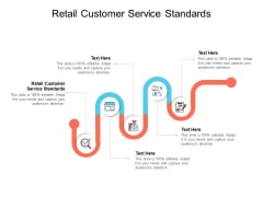 Retail Customer Service Standards Ppt PowerPoint Presentation Styles Themes Cpb