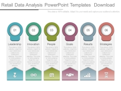 Retail Data Analysis Powerpoint Templates Download