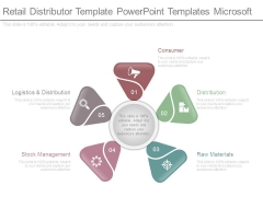 Retail Distributor Template Powerpoint Templates Microsoft