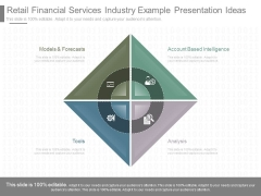 Retail Financial Services Industry Example Presentation Ideas