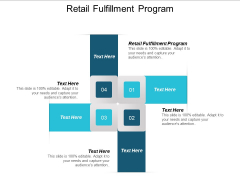 Retail Fulfillment Program Ppt PowerPoint Presentation Styles Good Cpb