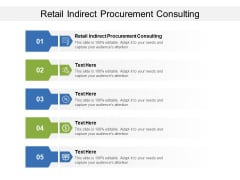 Retail Indirect Procurement Consulting Ppt PowerPoint Presentation Professional Icons Cpb