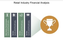 Retail Industry Financial Analysis Ppt PowerPoint Presentation Styles Icons Cpb