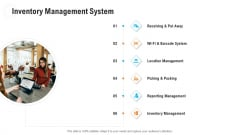 Retail Industry Outlook Inventory Management System Icons PDF
