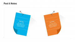 Retail Industry Outlook Post It Notes Mockup PDF