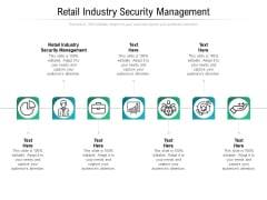 Retail Industry Security Management Ppt PowerPoint Presentation Styles Vector Cpb Pdf