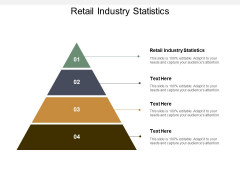 Retail Industry Statistics Ppt PowerPoint Presentation Infographic Template Objects Cpb