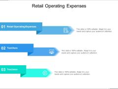 Retail Operating Expenses Ppt PowerPoint Presentation Portfolio Example Cpb