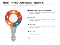 Retail Portfolio Optimization Placement Ppt PowerPoint Presentation Layouts Designs Cpb Pdf