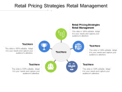 Retail Pricing Strategies Retail Management Ppt PowerPoint Presentation Inspiration Template Cpb Pdf