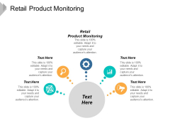 Retail Product Monitoring Ppt PowerPoint Presentation Infographics Structure Cpb