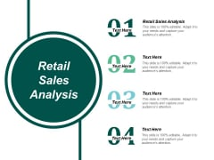 Retail Sales Analysis Ppt Powerpoint Presentation Model Template Cpb