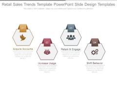 Retail Sales Trends Template Powerpoint Slide Design Templates