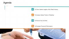 Retail Sector Introduction Agenda Slides PDF