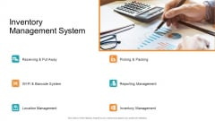 Retail Sector Introduction Inventory Management System Inspiration PDF