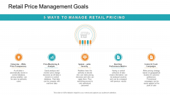 Retail Sector Introduction Retail Price Management Goals Rules PDF