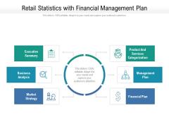 Retail Statistics With Financial Management Plan Ppt Powerpoint Presentation Styles Information Pdf