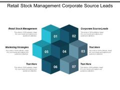 Retail Stock Management Corporate Source Leads Marketing Strategies Ppt PowerPoint Presentation Portfolio Topics