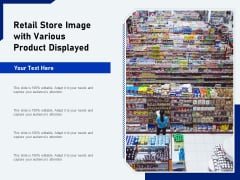 Retail Store Image With Various Product Displayed Ppt PowerPoint Presentation Model Microsoft PDF