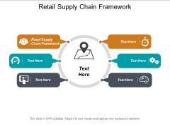 Retail Supply Chain Framework Ppt PowerPoint Presentation File Designs Cpb