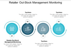 Retailer Out Stock Management Monitoring Ppt PowerPoint Presentation Infographic Template Design Templates Cpb Pdf