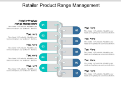 Retailer Product Range Management Ppt PowerPoint Presentation Portfolio Example File Cpb