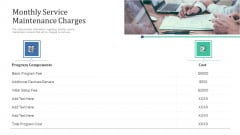 Retaining Clients Improving Information Technology Facilities Monthly Service Maintenance Charges Guidelines PDF