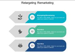 Retargeting Remarketing Ppt PowerPoint Presentation Inspiration Shapes Cpb
