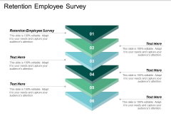 Retention Employee Survey Ppt PowerPoint Presentation Summary Skills Cpb