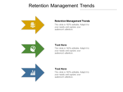 Retention Management Trends Ppt PowerPoint Presentation Summary Icon Cpb
