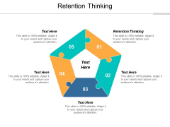 Retention Thinking Ppt PowerPoint Presentation Outline Background Cpb