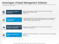 Rethink Approach Asset Lifecycle Management Advantages Of Asset Management Software Themes PDF