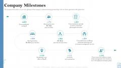 Retirement Insurance Benefit Plan Company Milestones Introduction PDF