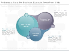 Retirement Plans For Business Example Powerpoint Slide