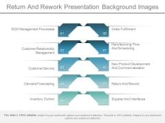 Return And Rework Presentation Background Images