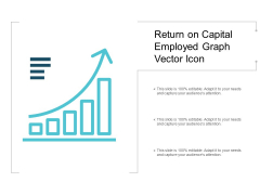 Return On Capital Employed Graph Vector Icon Ppt PowerPoint Presentation Portfolio Design Inspiration