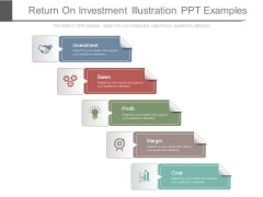 Return On Investment Illustration Ppt Examples